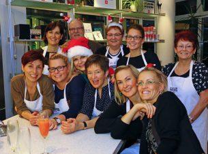 Weihnachtsfeier 2014 im Kochstudio